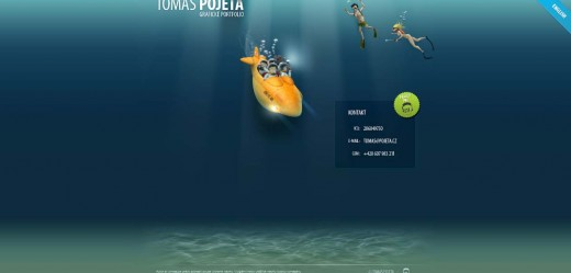 Deep sea footer design