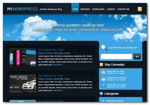 Efficient WordPress Layout
