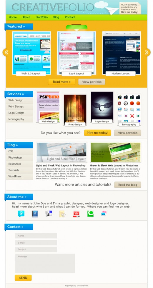 How to make web design in photoshop cs5