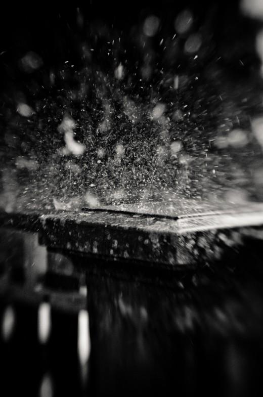 Sparkling Rain Drops