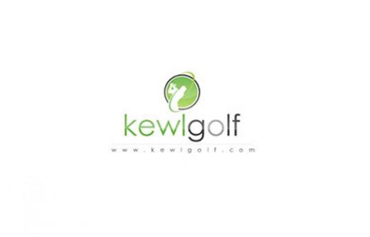 kewlgolf logo design