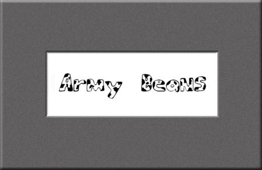 Army Beans