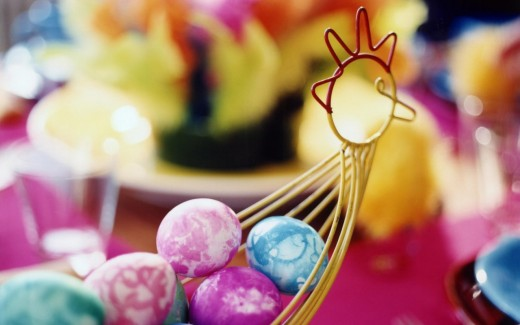 Beautiful Easter eggs wallpapers