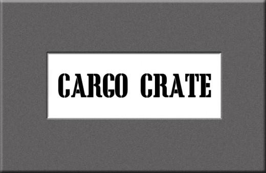 Cargo Crate