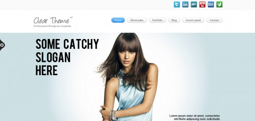 Clear Theme - Multipurpose WordPress Theme