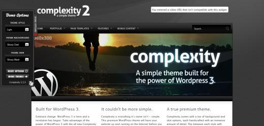 Complexity Premium WordPress Theme