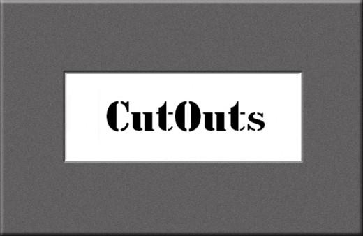 Cut Outs FLF Font