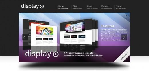 Display 3 in 1 - Business & Portfolio WordPress