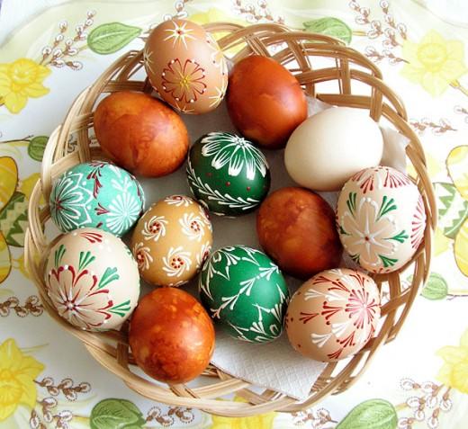 Easter eggs by pralinkova princezna