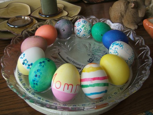 Easter Eggs by Stsaling