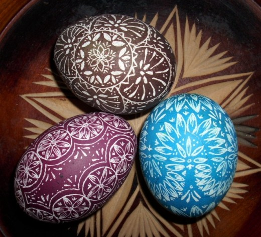 Engraved Easter Eggs