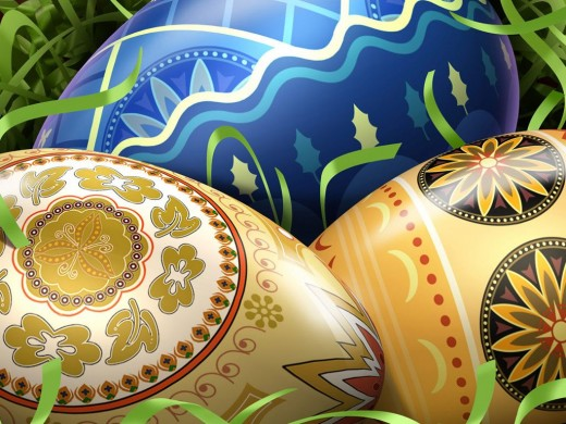 Free Easter Eggs Wallpapers
