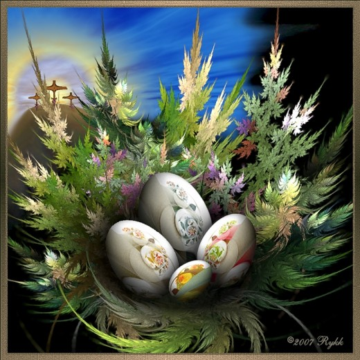 Happy Easter by Rykk