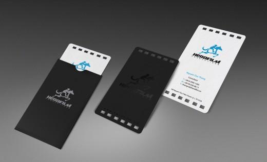 Hero film Business card
