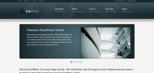 Karma - Clean and Modern WordPress Theme