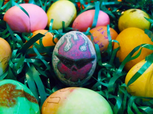 Manliest Egg Ever