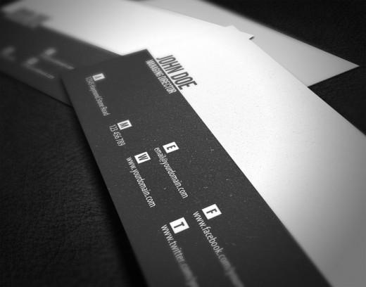 Minimal Business Card by Glenngoh