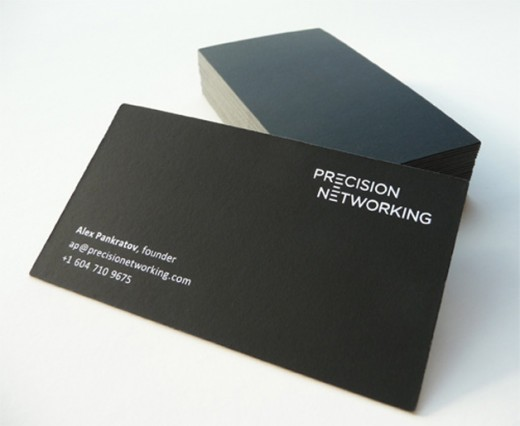 25 Minimal Business Card Design Examples - DotCave