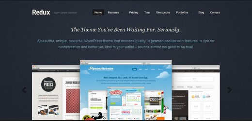 Redux Business & Portfolio WordPress Theme