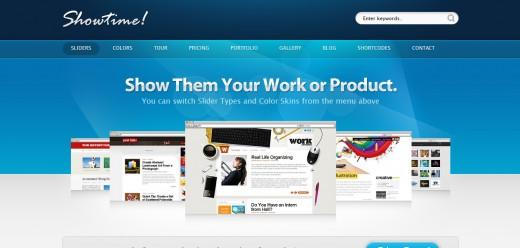 Showtime - Business and Portfolio WordPress Theme