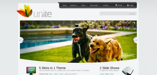 Unite - WordPress Business, Magazine Theme