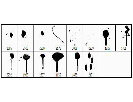 250+ High Resolution Drip Brushes for Photoshop - DotCave