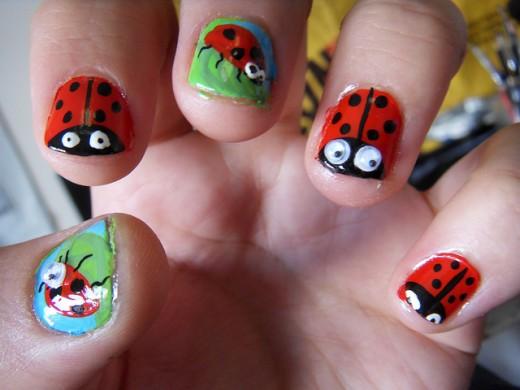25 Most Interesting Acrylic Nail Art Designs Ideas Dotcave