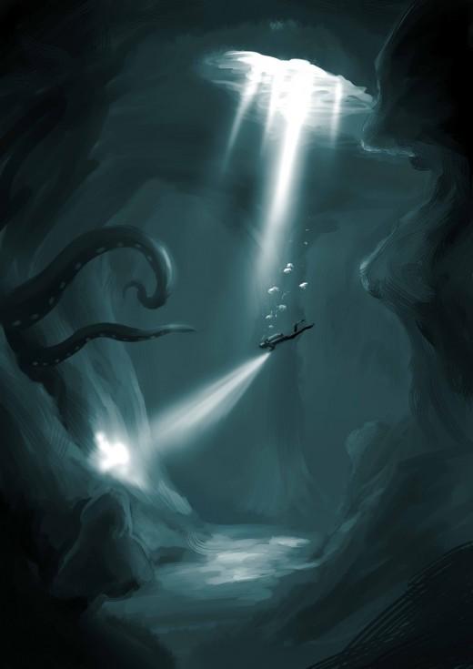 22 Mind Blowing Underwater Digital Paintings DotCave