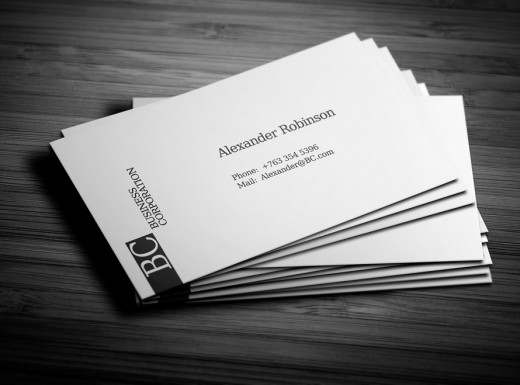 20 Inspirational White Business Card Designs - DotCave