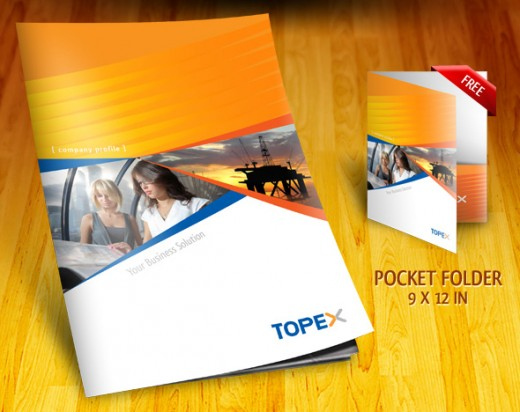 professional company profile brochure - Brochure Design Ideas