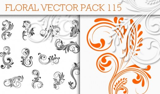 50+ Floral Vectors Pack for Graphic Designers - DotCave