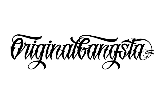 42 Best Free Tattoo Fonts Examples - DotCave