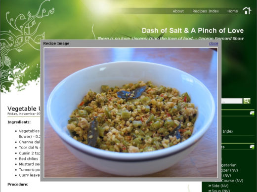 13 best recipes widgets for wordpress food blogs dotcave auto post images api forumfinder Gallery