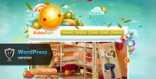 A List High Quality Children WordPress Themes - DotCave