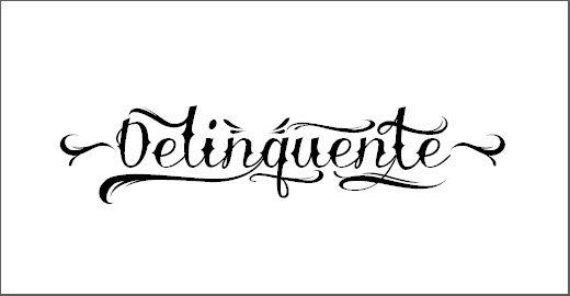 Delinquente Demo Font
