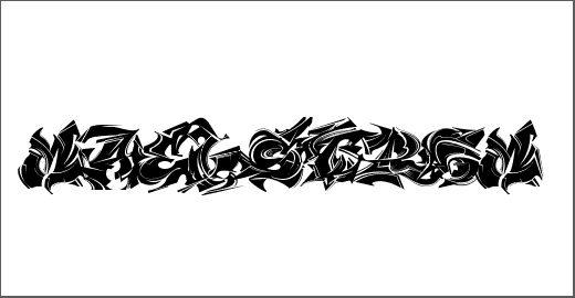 Maelstrom Font - Free Original Gangsta Fonts