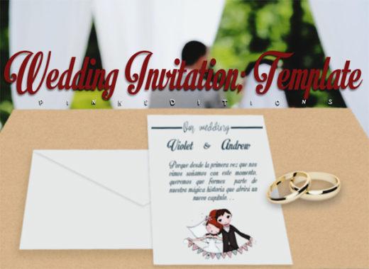 Wedding Invitation - Template