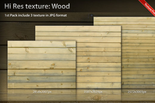 3 Hi Resolution Wood Textures