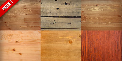 6 High Resolution Wooden Surface Textures
