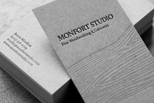 Amazing Letterpress Business Cards