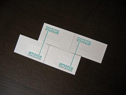 Arranging Amonle Letterpress Logos