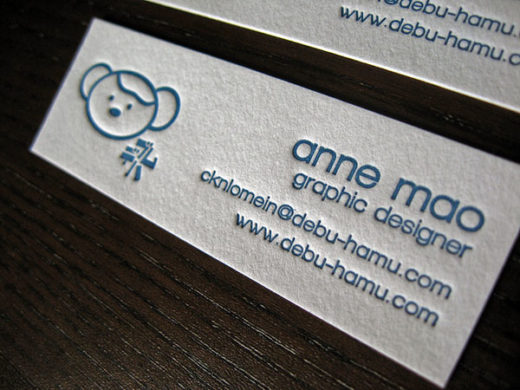 Graphic Designer Mini Business Card