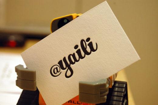 Great Letterpress Business Cards Ideas