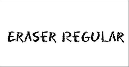 Eraser Font Family