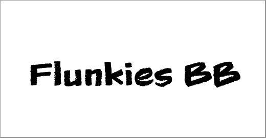 Flunkies BB Font