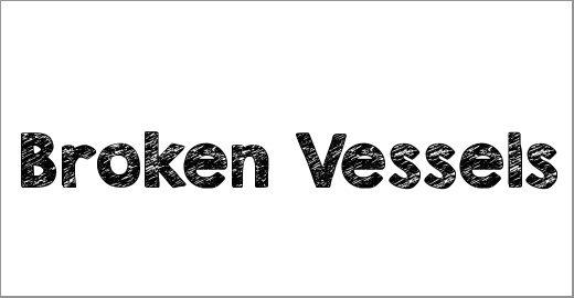 KG Broken Vessels Sketch Font