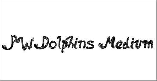 PWDolphins Font