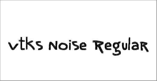 Vtks Noise Font